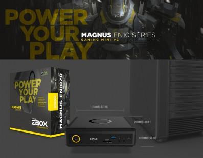 El Gaming llega a los mini PC con NVIDIA GTX 10