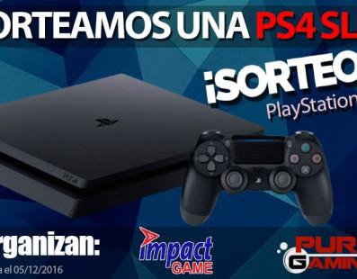 SORTEAMOS UNA CONSOLA PLAYSTATION 4 SLIM ¡PARTICIPA!
