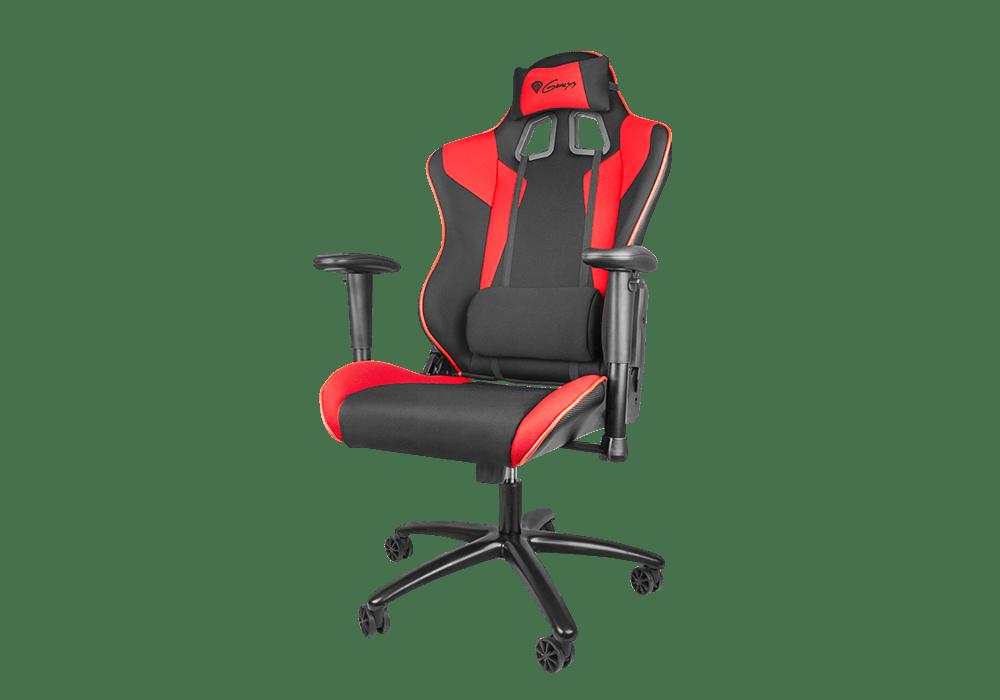 Natec genesis lanza su nueva silla gaming sx77 for Silla gaming con altavoces