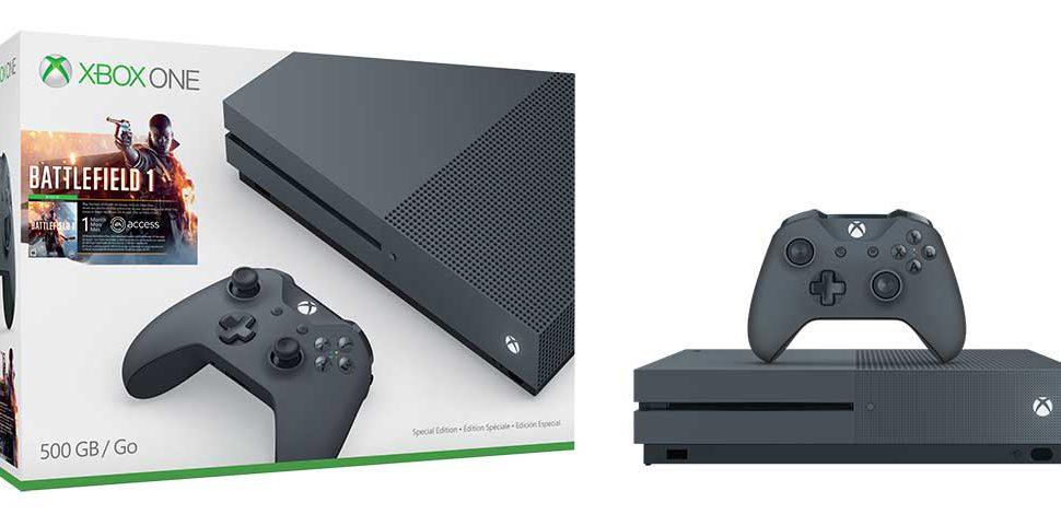 Nuevos colores llegan a la Xbox One S en packs de edición limitada