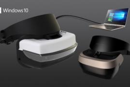 Microsoft presenta sus gafas de realidad virtual a un precio de 299 dólares