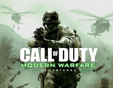 Ya conocemos el tamaño de descarga de Call of Duty: Modern Warfare Remastered