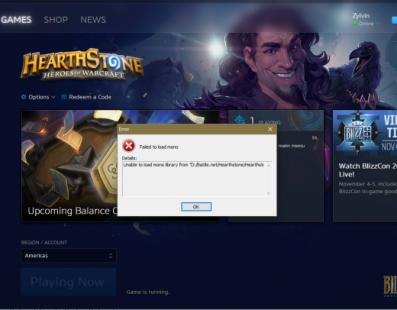 La última actualización de Hearthstone hace que no puedas jugar, aquí tienes la solución