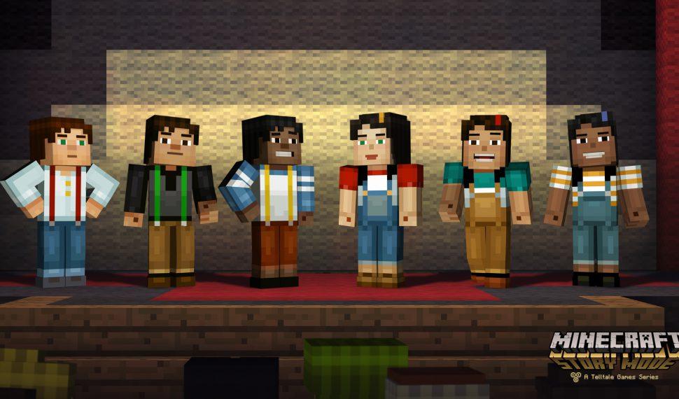 Minecraft: Story Mode – The Complete Adventure disponible desde el 28 de octubre