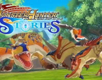 El modo de combate de Monster Hunter Stories se muestra