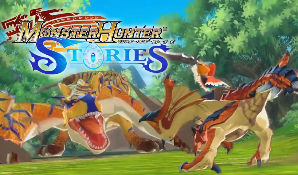 El modo de combate de Monster Hunter Stories se muestra