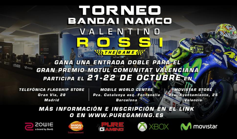Torneo Bandai Namco Valentino Rossi: The Game [Finalizado]