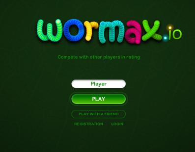 Wormax.io, conviértete en el mayor gusano del mundo