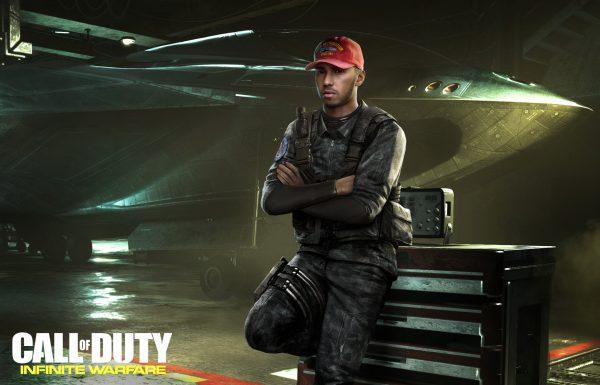 Lewis Hamilton aparecerá en Call of Duty: Infinite Warfare