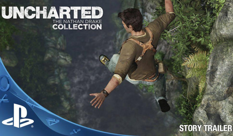 Compra por separado los títulos de la trilogía remasterizada de Uncharted