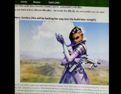 [Rumor] Sombra y un evento de Halloween llegan a Overwatch muy pronto