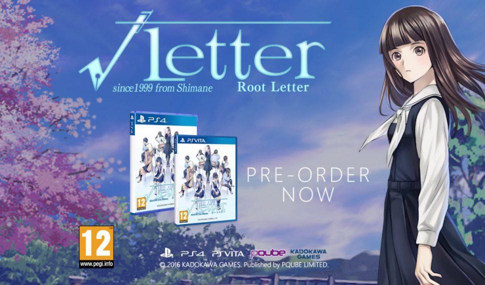 Root Letter (Limited Edition) llega a España el 28 de octubre