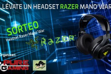 SORTEO RAZER headset ManO'War con Puregaming y el Blizzer