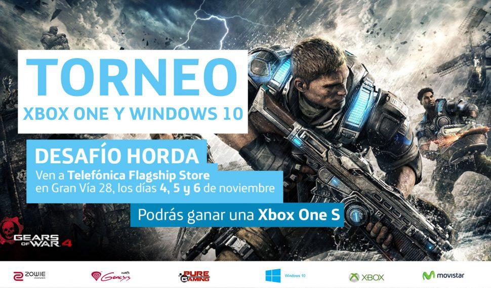 Torneo Gears of War 4 en Telefónica Flagship Store