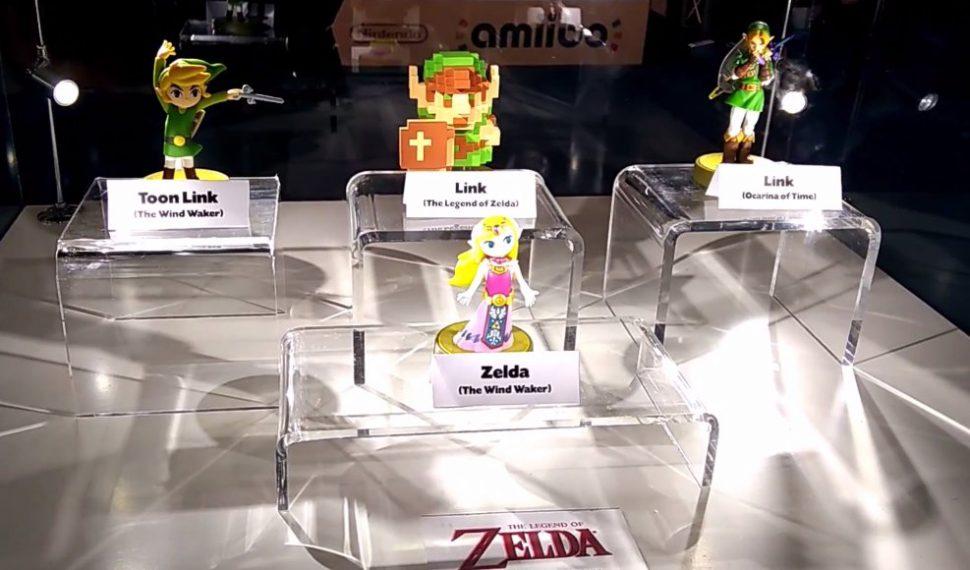 Ya disponibles las imágenes de los amiibo de Zelda 30 Aniversario