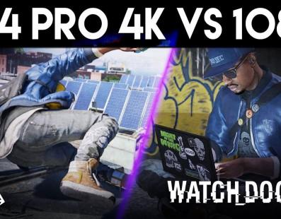 Comparativa Watch Dog 2: PS4 Pro 4k vs 1080p