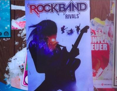 El 30 de noviembre llegará Rock Band Rivals a Europa