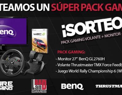 Sorteo Súper Pack Gaming Conducción. ¡Participa!