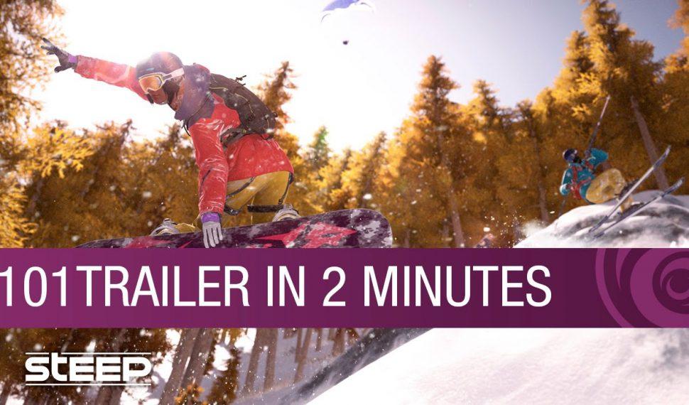 Ubisoft muestra nuevo tráiler de Steep