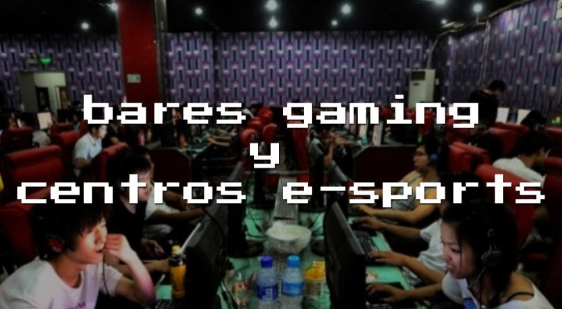 Listado de bares gaming y centros de eSports en España