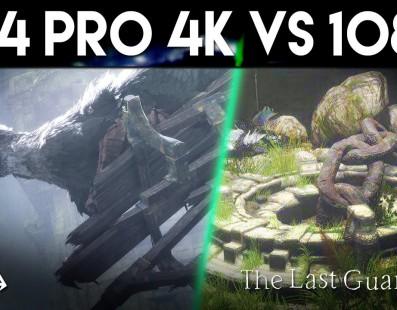[Comparativa] The Last Guardian PS4 Pro vs. PS4