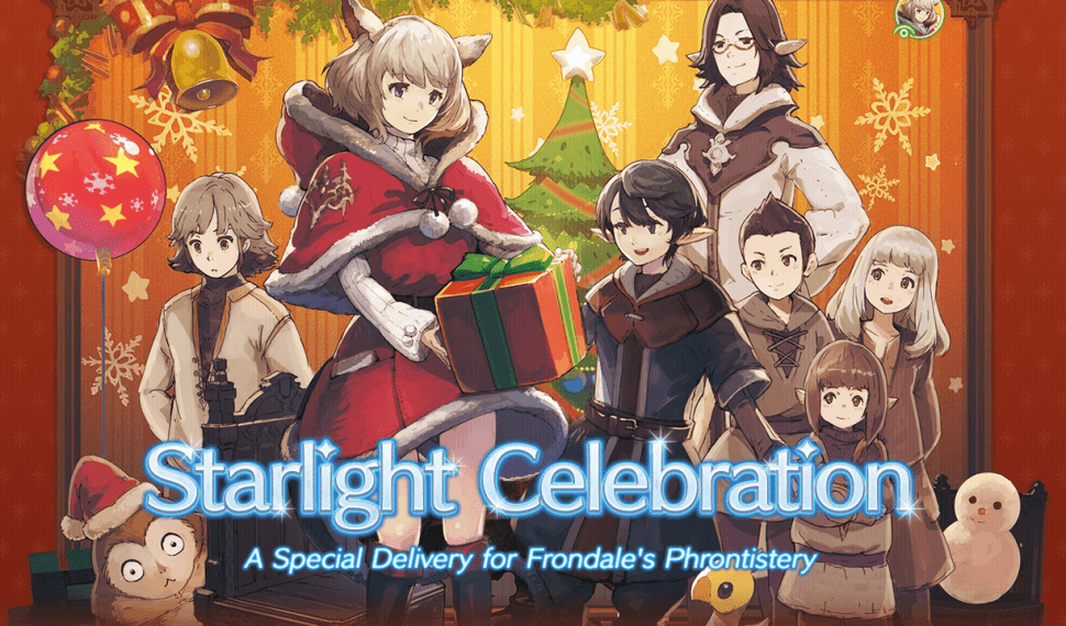 Starlight Celebration: la navidad ha llegado a Eorzea FFIV