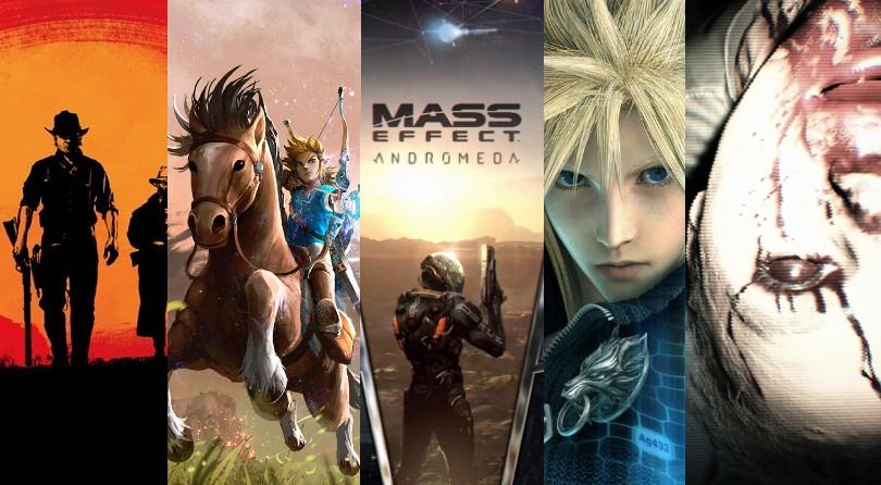 Los videojuegos más esperados del año que viene – TOP 5 lanzamientos 2017