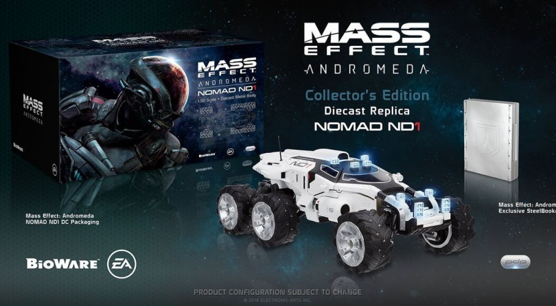 Contenido de la Edición Coleccionista de Mass Effect Andromeda