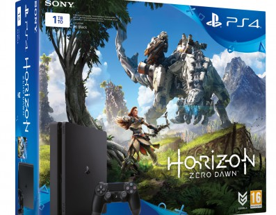 Nuevo pack de PlayStation 4 + Horizon Zero Dawn y 3 meses de PS Plus el 1 de marzo