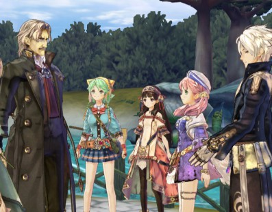Atelier Shallie: Alchemists of the Dusk Sea llega a PS VITa