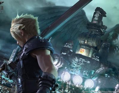 Final Fantasy VII Remake se muestra en un nuevo render promocional