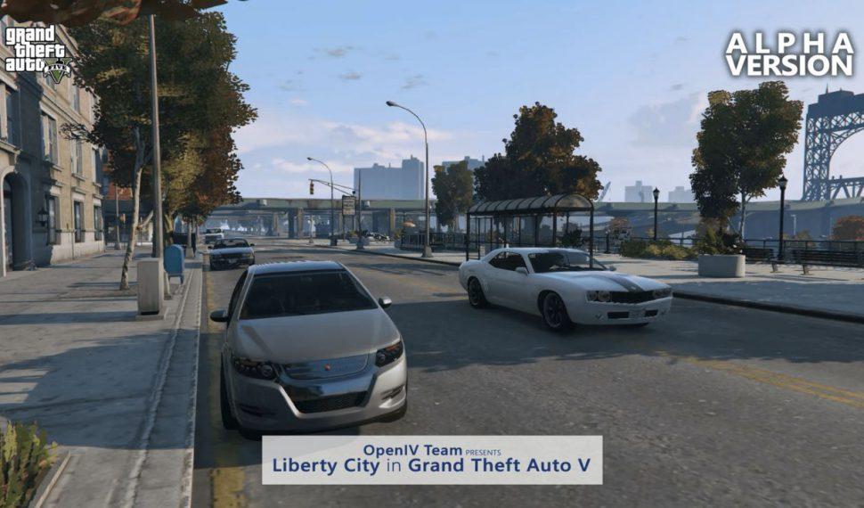 El mod de Grand Theft Auto V que recrea Liberty City