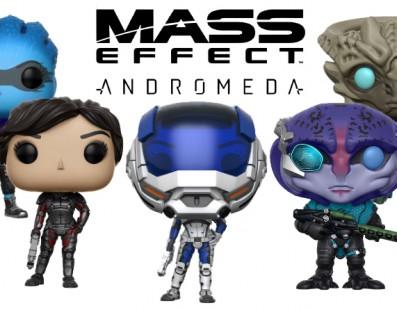 Funko presenta las nuevas figuras Pop! de Mass Effect Andromeda