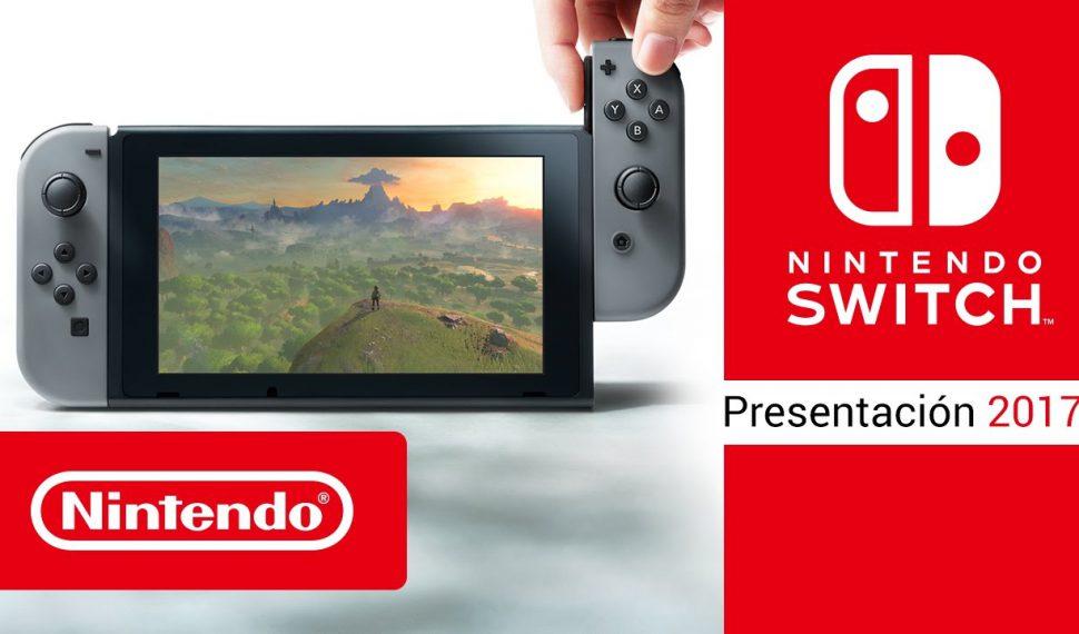 Ya podemos ver el unboxing oficial de Nintendo Switch