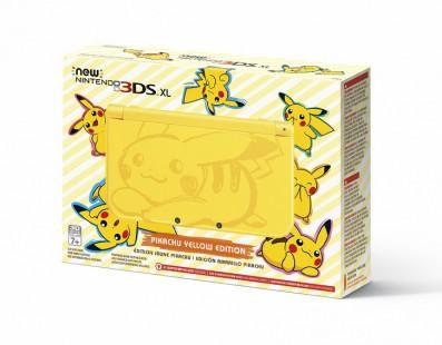 Nintendo lanza un nuevo color para su 3DS XL, el Amarillo Pikachu