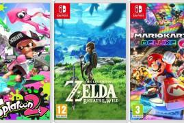 Alemania rompe el diseño de las caratulas de Nintendo Switch