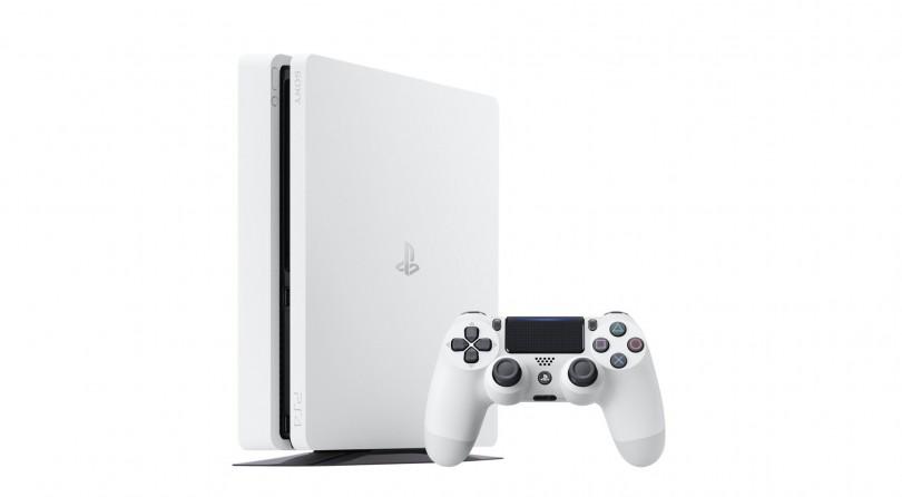 No te pierdas la PS4 Slim Glacier White