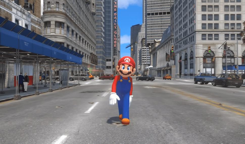 El tráiler de Super Mario Odyssey al estilo GTA