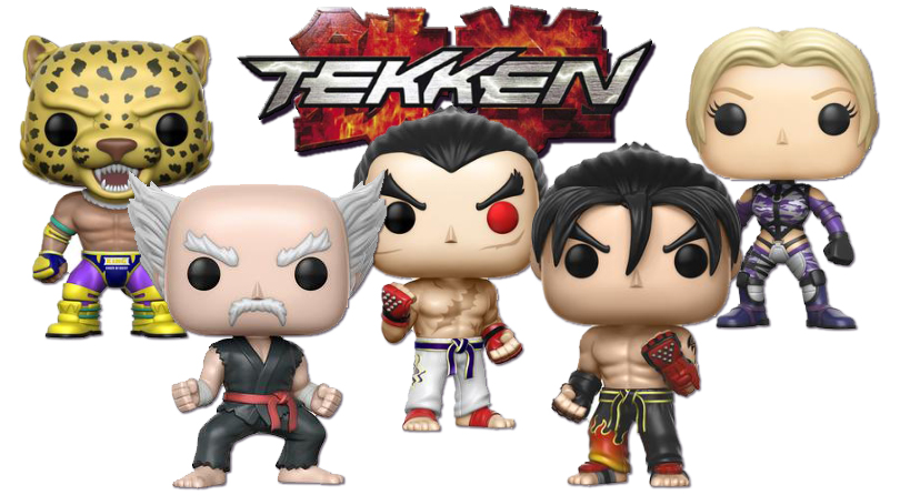 Funko presenta las nuevas figuras Pop! de Tekken