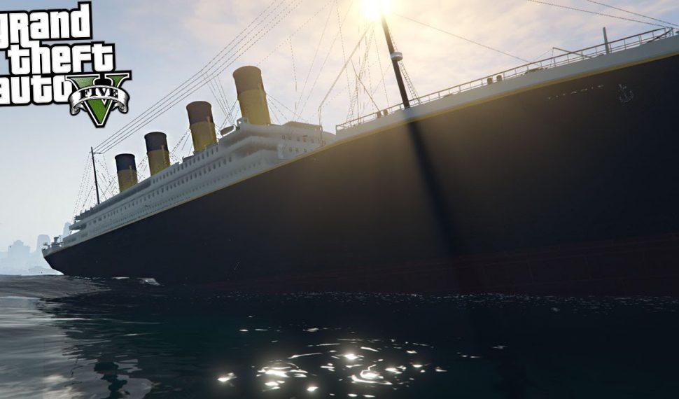 Podremos revivir el hundimiento del Titanic gracias a un mod de Grand Theft Auto V