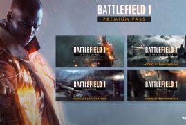 Anunciados los 4 packs del Premium Pass de Battlefield 1