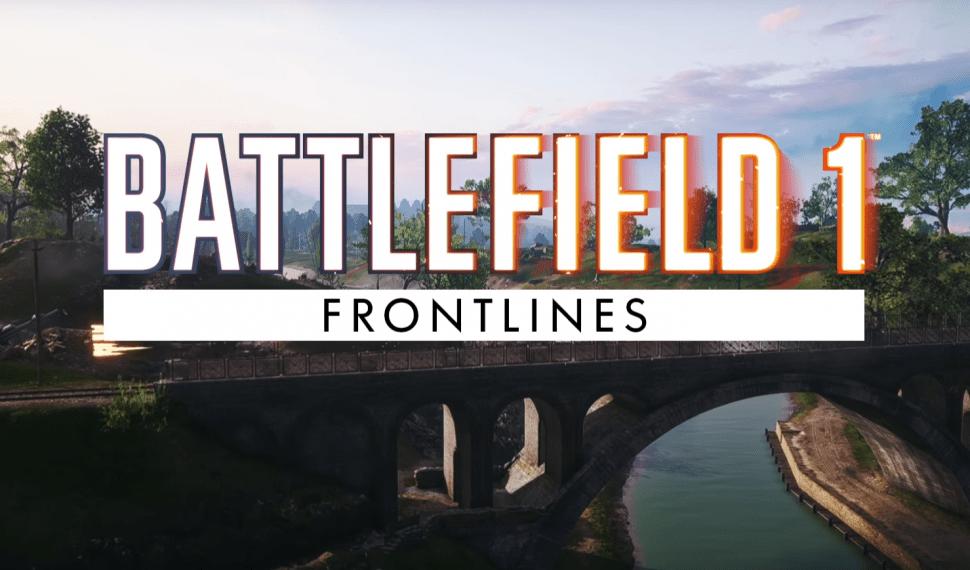 Battlefield 1 estrena nuevo modo de juego, Frontlines