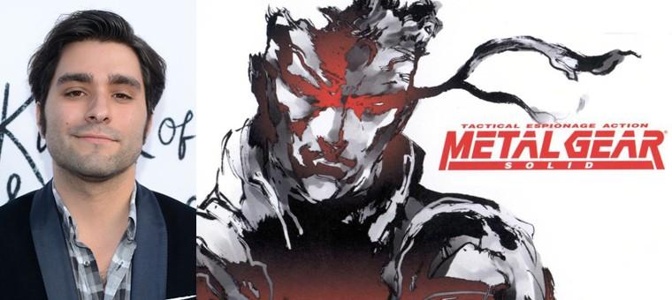 Hideo Kojima trabaja en el guión de la película de Metal Gear Solid