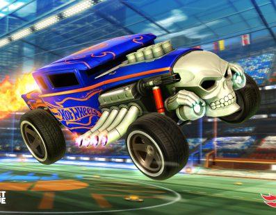 La nueva actualización de Rocket League le hace compatible con PS4 Pro y añade un DLC de Hot Wheels