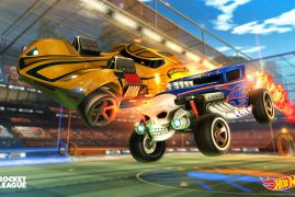 Inyección de infancia a Rocket League con Hot Wheels