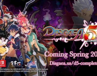 Disgaea 5 Complete para Nintendo Switch ya tiene tráiler oficial