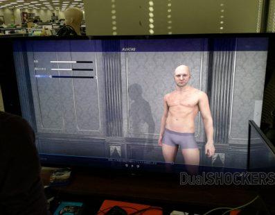 Primera imagen del editor de personajes de Final Fantasy XV