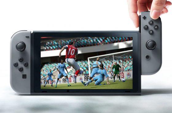 Nintendo Switch tendrá una edición a medida de FIFA 18