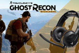 Thrustmaster presenta sus auriculares gaming de Ghost Recon Wildlands