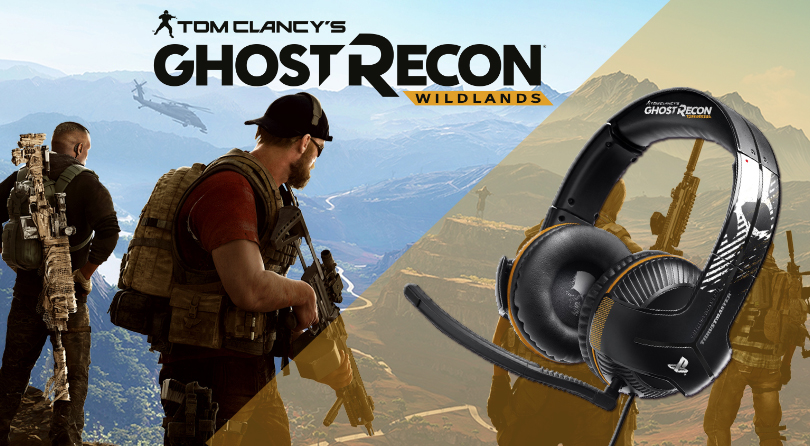 Thrustmaster presenta sus auriculares gaming de Ghost Recon Wildlands